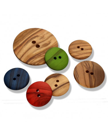 Wood Button 11190