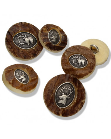 Country Style Button 19069